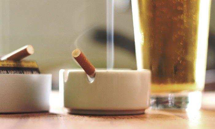 Rauchen erwünscht